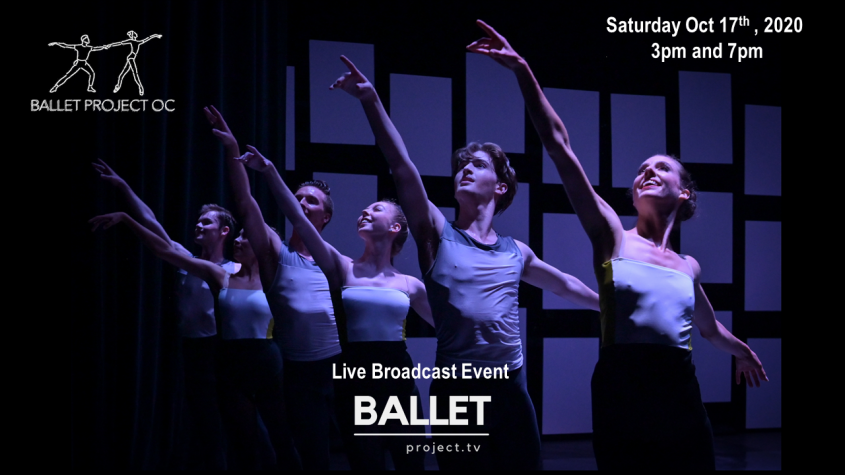 Ballet Project OC – Oct 17 2020 at 3pm and 7pm – Encore Performances