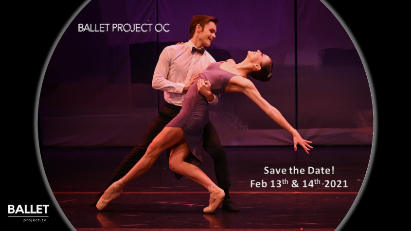 "Ballet Project OC – New Movie ""Save the Date!"" Saturday, February 13th"